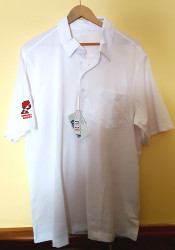 Polo Shirt (Men's White)