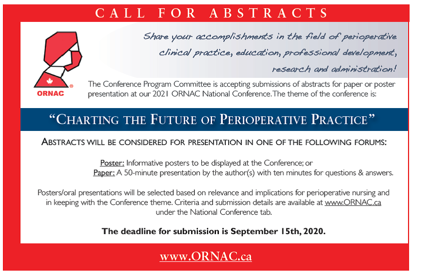 Call for Abstracts English