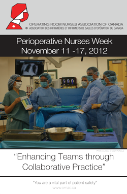 2012 Peroperative Nurses Week Poster - English